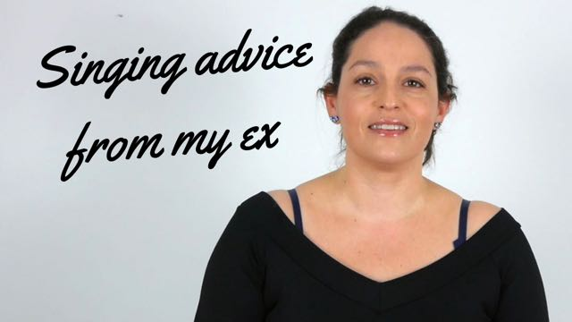 Singing advice from my ex
