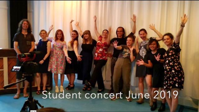 Student concert summer 2019