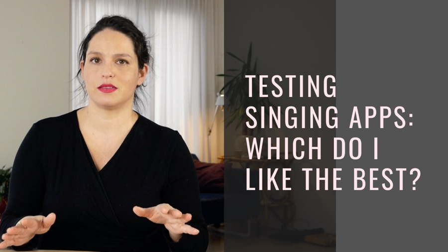 Singing apps: what's the best one for voice training?