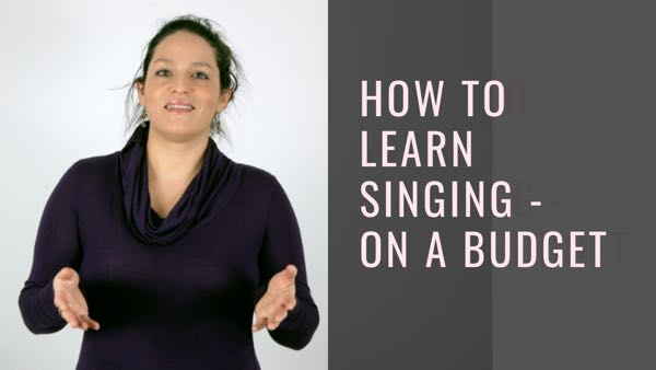 How to learn singing – on a budget
